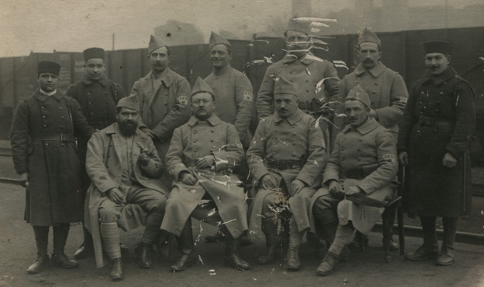 cpa photo zouaves et soldats en allemagne 1923 ebay. Black Bedroom Furniture Sets. Home Design Ideas